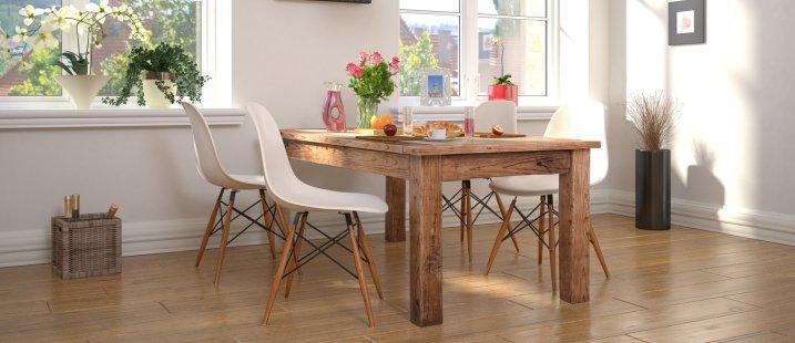 Обеденный стол со стульями фото