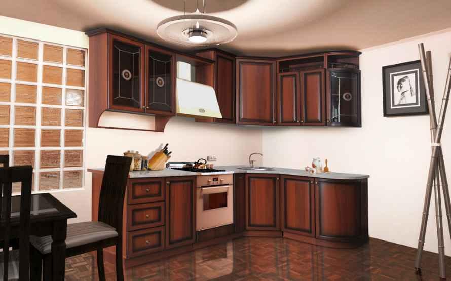 кухня в классическом дизайне Селена 801