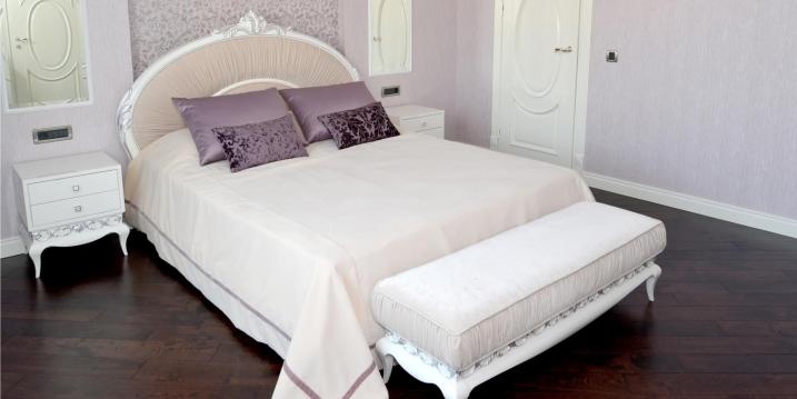 Банкетка в спальне фото