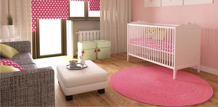 Детская комната обставленная мебелью