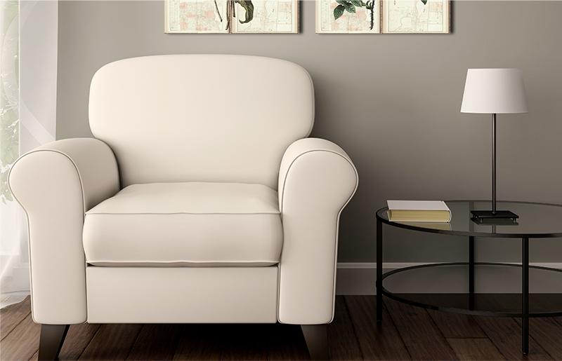 кресло белое фото