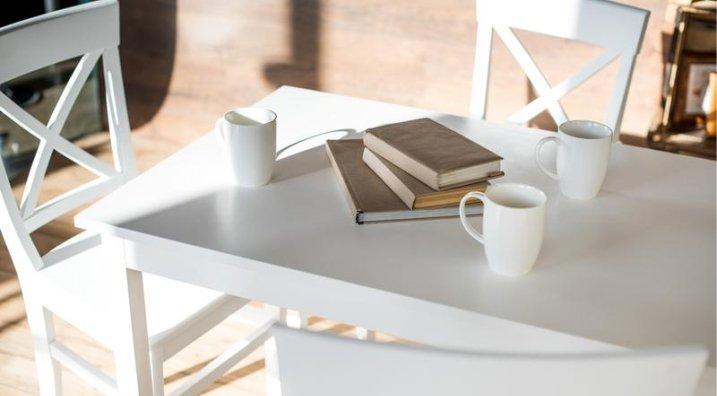 Белый стол фото