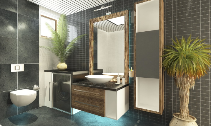 Шкаф зеркало для ванной