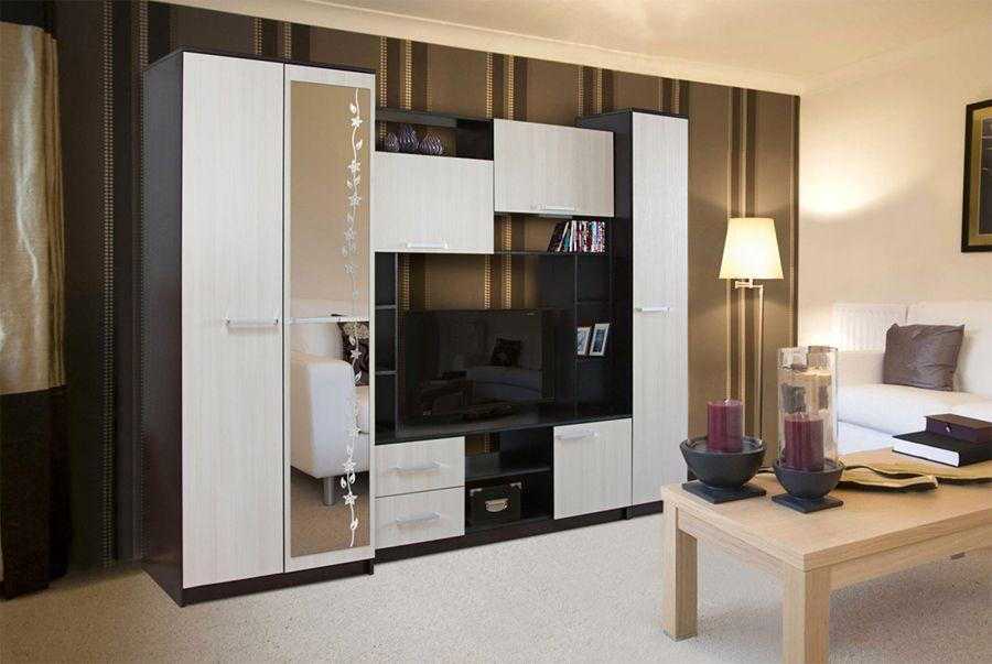 стенки в гостиную недорого екатеринбург фото